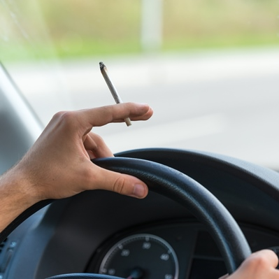 marijuana joint and driving