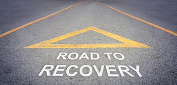 road to recovery graphic