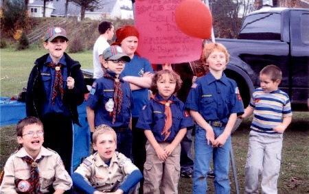 Dolgeville New York Cub Scouts