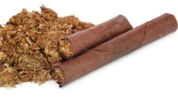 marijuana rolled with cigar paper