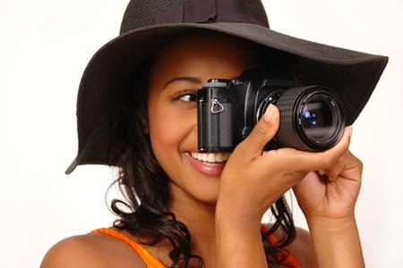teen taking pictures